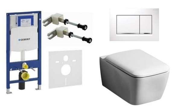 Geberit stelaż do wc z miską toaletową Koło Life+ deska wolnoopadająca+przycisk spłukujący Geberit Sigma 30 biała -image_Geberit_UP320/BOLDW_1