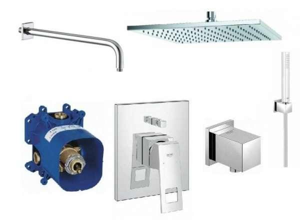 Podtynkowy zestaw prysznicowy Grohe Eurocube Eco GR/EUROCUBE/ECO-image_Grohe_GR/EUROCUBE/300_1