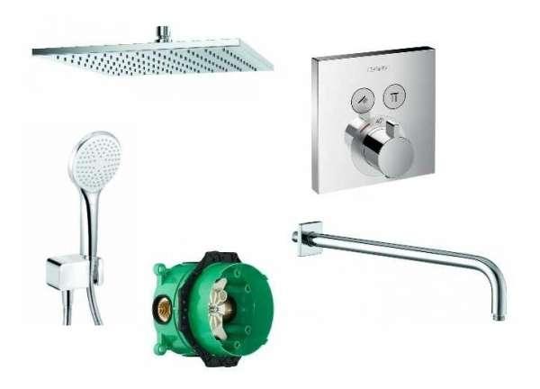 Termostatyczny pakiet prysznicowy ShowerSelect -image_Hansgrohe / Kludi_HGR/SHOWERS/300_1