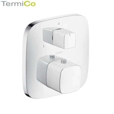 Podtynkowa bateria wannowa z termostatem Hansgrohe Puravida 15771000 wersja chrom błyszczący.-image_Hansgrohe_15771000_1