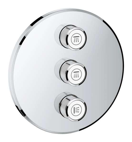 Grohe Smartcontrol 29122000 zawór odcinający do 3 odbiorników-image_Grohe_29122000_1