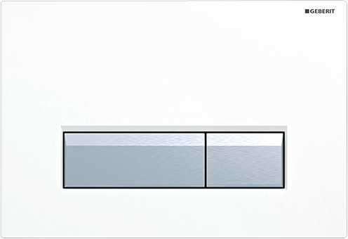 Plastikowy przycisk Geberit SIgma40 115.600.KQ.1 w wersji białej do stelaży Geberita 111.370.00.5-image_Geberit_115.600.KQ.1_1