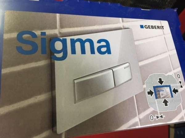 Adapter umożliwiający zamontowanie przycisku Geberit Sigma 60 licowanego ze ścianą w spłuczce podtynkowej Geberit Duofix UP320.-image_Geberit_243.168.00.1_1