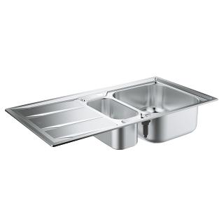 Zlew kuchenny z ociekaczem Grohe K400 31567SD0.-image_Grohe_31567SD0_1