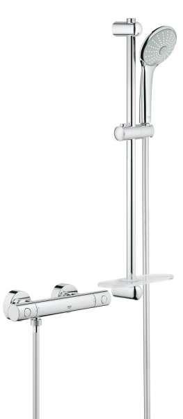 Promocyjny zestaw prysznicowy z baterią termostatyczną Grohe Grohtherm 1000 Cosmo 34286002.-image_Grohe_34286002_3