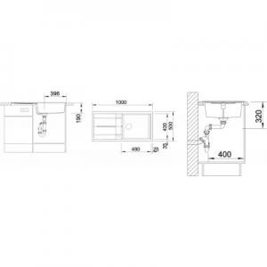 Dane techniczne zlewozmywaka kuchennego Blanco Metra XL 515286-image_Blanco_515286_2