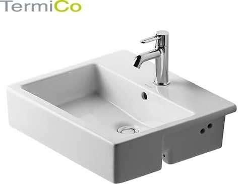 Duravit Vero umywalka ceramiczna szlifowana półblatowa 0314550000.-image_Duravit_0314550000_4