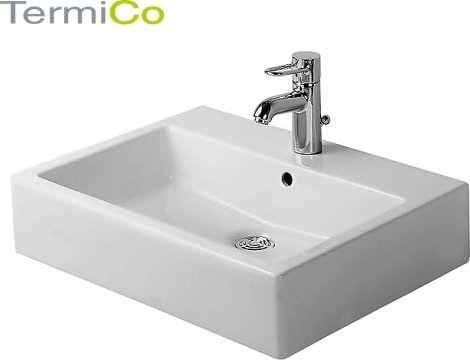 Umywalka szlifowana z przelewem z półką na baterię-image_Duravit_0452600000_4