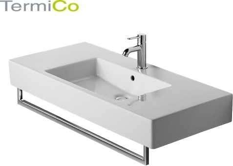 Umywalka meblowa Ver z przelewem z półką na bateię-image_Duravit_0329100000_4