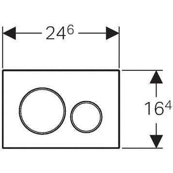 Wymiary techniczne przycisku Geberit Sigma 20 115882JQ1 -image_Geberit_115882jq1_2