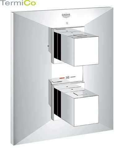 Obrazek podtynkowej termostatycznej baterii prysznicowej do 1 odbiornika Grohe Allure Brilliant 19791000-image_Grohe_19791000_1