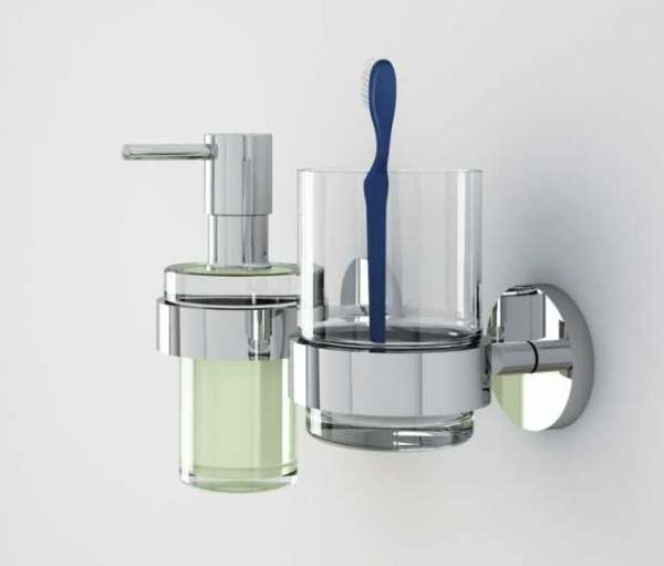 Aranżacja uchwytu do szklanki i mydelniczki Grohe Essentials 40369001-image_Grohe_40369001_3