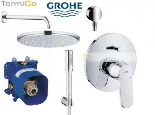 Podtynkowa bateria prysznicowa z deszczownicą i zestawem prysznicowym.-image_Grohe_GR/ECOSMO/210_3