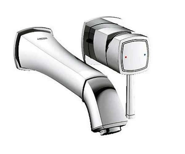 Armatura łazienkowa Grohe Grandera - podtynkowa bateria umywalkowa z długą wylewką, element zewnętrzny.-image_Grohe_19930000_5