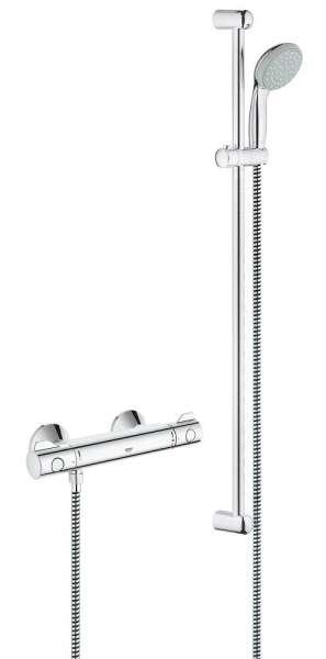 Atrakcyjny cenowo zestaw termostatyczny do kabiny prysznicowej Grohtherm 800 34566001.-image_Grohe_34566001_3