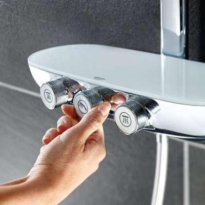 Obrazek poglądowy pokręteł sterujących kolumną prysznicową Grohe 26250000-image_Grohe_26250000_3