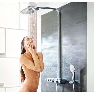 Tak możesz rozkoszować się kąpielą pod deszczem z deszczownicy zestawu Grohe 26250000-image_Grohe_26250000_5