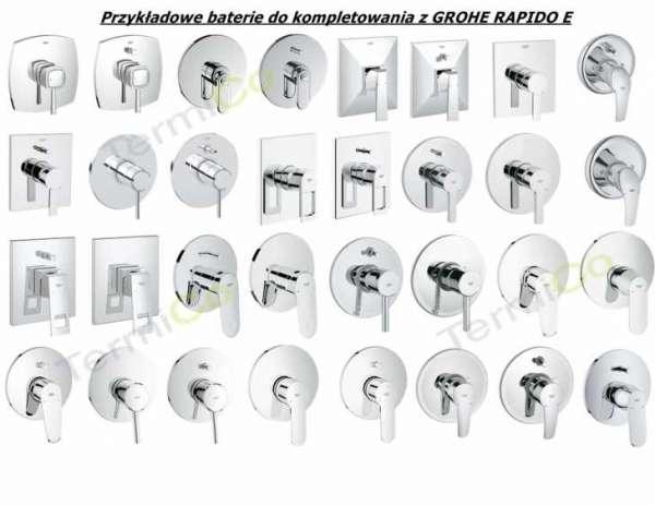 Możliwości zastosowania elementów zewnętrznych do Grohe Rapido E 35501000.-image_Grohe_35501000_5