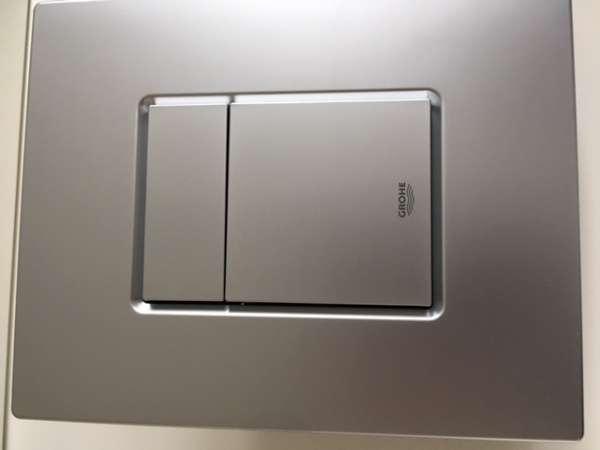 Dwudzielny przycisk uruchamiający spłukiwanie w spłuczkach podtynkowych Grohe Rapid SL - Skate Cosmopolitan wersja chrom matowy 38732P00.-image_Grohe_38732P00_3