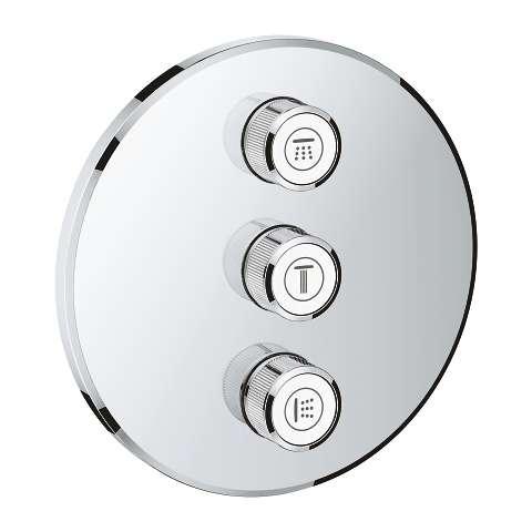 Zawór przełączający do 3 odbiorników Grohe Smartcontrol 29122 do kompletowania z Grohe Smartbox 35600000.-image_Grohe_29122000_4
