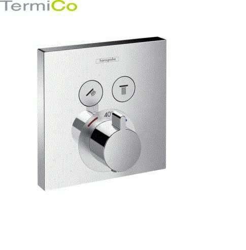 Podtynkowa bateria termostatyczna Hansgrohe Showerselect 15763000 do 2 odbiorników.-image_Hansgrohe_15763000_4