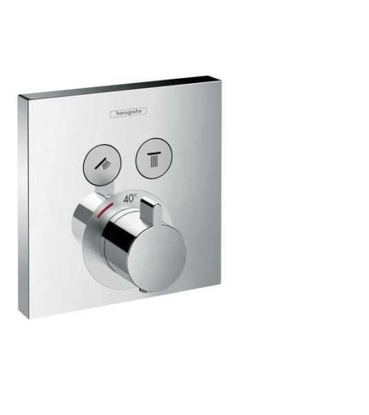 Podtynkowa bateria termostatyczna Hansgrohe ShowerSelect 15763000 - do kompletowania z Iboxem.-image_Hansgrohe_15763000_3