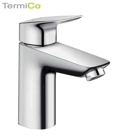 Bateria do umywalek firmy hansgrohe z funkcją napowietrzania wody Logis 100 71101000-image_Hansgrohe_71101000_3