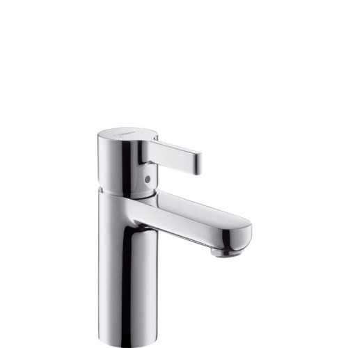 Kran do umywalki Hansgrohe Metris S 31 068 000 w wersji bez korka automatycznego - brak dziurki z tyłu baterii.-image_Hansgrohe_31068000_3
