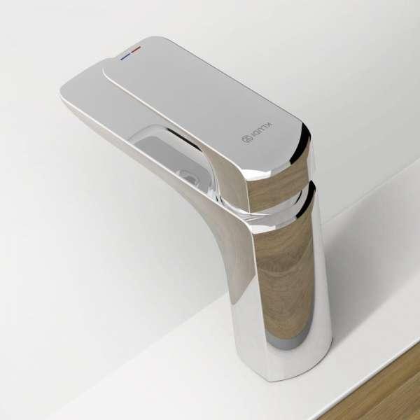 Tył baterii umywlkowej kludi ameo bez zestawu odpływowego-image_Kludi_410280575_4