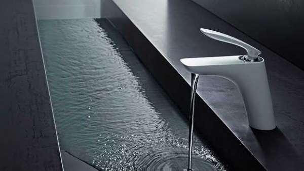 Aranżacja białej baterii umywalkowej Kludi Balance White 520239175-image_Kludi_520239175_5