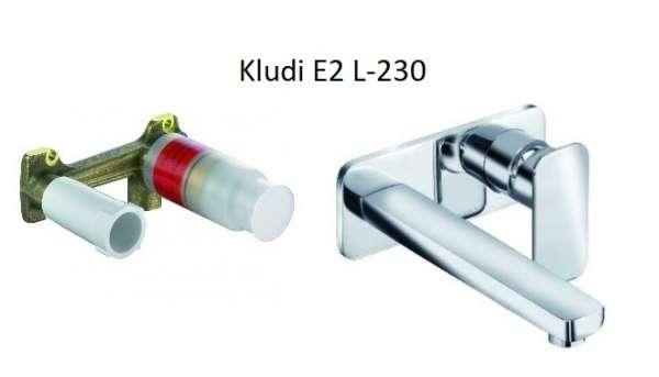 Podtynkowy zestaw do umywalki - bateria umywalkowa z długą wylewką wraz z elementem podtynkowym.-image_Kludi_KL/E2/U230_3