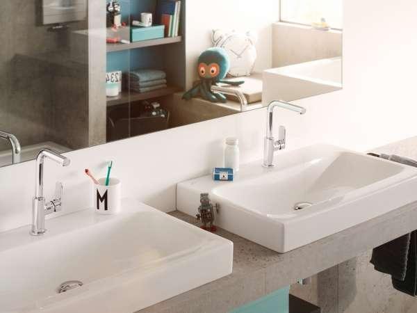 Aranżacja baterii umywalkowej jednouchwytowej pure style-image_Kludi_400250575_4