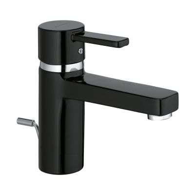 Bateria do umywalki w kolorze czarnym błyszczącym Kludi Zenta Black XL 382608675.-image_Kludi_382608675_3