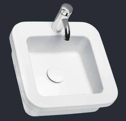 Ceramiczna umywalka Koło Cocktail w rozmiarze 45cm-image_Koło_L31846000_2