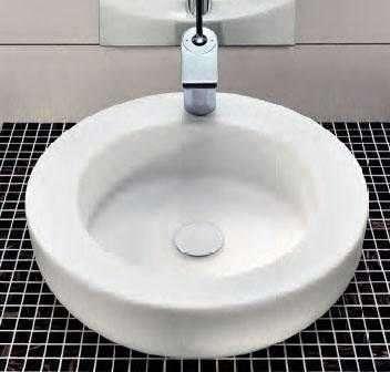 Aranżacja umywalki Koło Cocktail stawianej na blat-image_Koło_L31645000_2