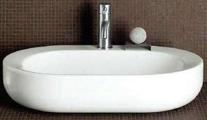 Aranżacja umywalki owalnej Koło Cocktail L31665000 -image_Koło_L31665000_2