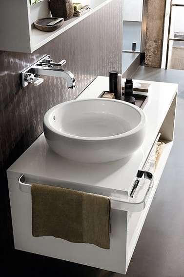 Aranżacja umywalki stawianej na blat Ego K12145-000-image_Koło_K12145000 _4