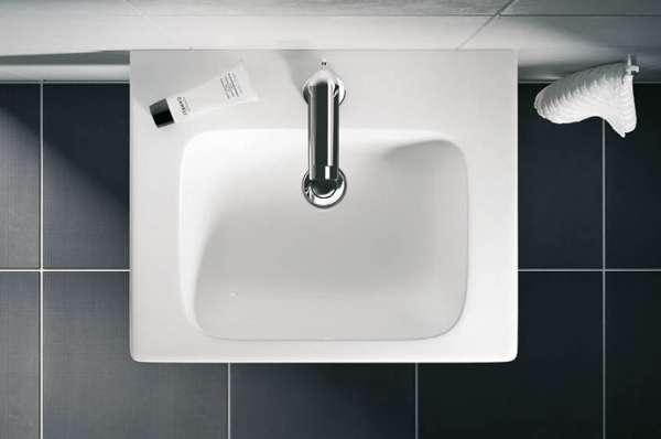 widok z góry prostokątnej umywalki modo z powłoką antybakteryjną-image_Koło_L31950900_4