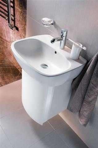 Aranżacja umywalki ceramicznej Koło Style z powłoką Reflex 1-image_Koło_L21955900_3