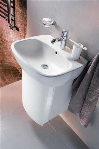 Umywalka ceramiczna Koło Style w łazience -image_Koło_L21960000_2