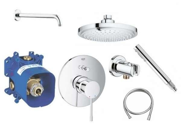 Grohe Essence 180 podtynkowy set prysznicowy ze słuchawką i okrągłą deszczownicą 18cm-image_Grohe_GR/ESSENCE/180_3