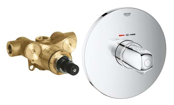 Podtynkowa bateria termostatyczna z elementem podtynkowym Grohe 34573-image_Grohe_34573000_3