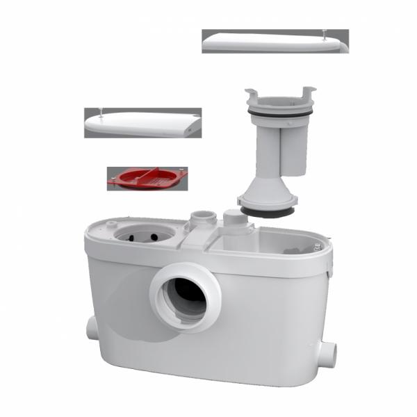 Łatwy dostęp serwisowy do pompy SFA Saniaccess -image_SFA_SFA SANIACCESS 3_4