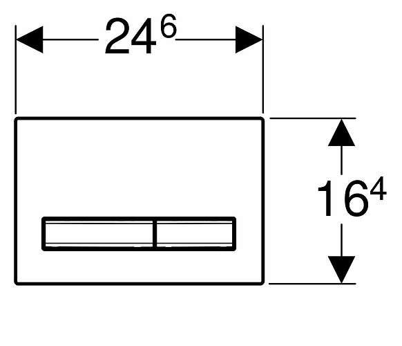Wymiary przycisku Geberit Sigma 50 łupek mustang 115788jm2-image_Geberit_115.788.JM.2_2