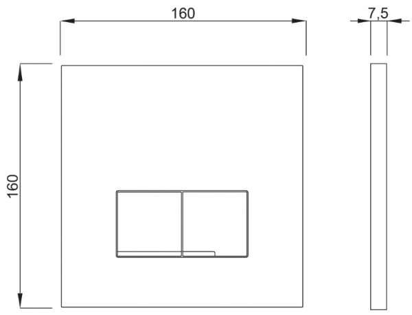 Dane techniczne przycisku Schwab 4060420101 -image_Kludi / Grohe_KL/TERCIO/300_1