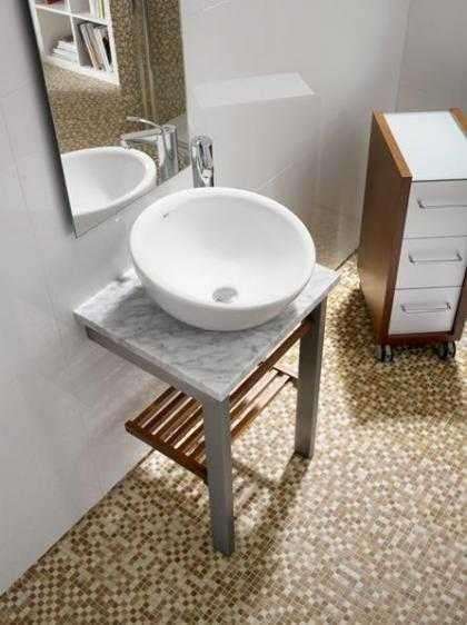 Aranżacja umywalki nablatowej Roca Bol 327876-image_Roca_A327876000_5