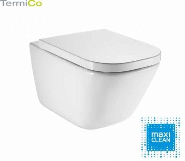 Rimless Maxi Clean Roca Gap miska wc - uniwersalna bezkołnierzowa miska ustępowa do każdego stelaża podtynkowego wc.-image_Roca_A34647L00M_4