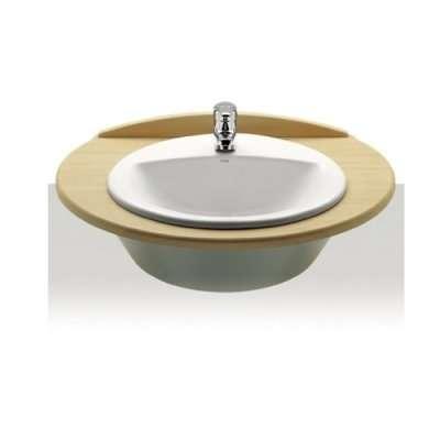 Jedna z najpopularniejszych umywalek wpuszczanych w blat firmy Roca z serii Rodeo 327866000.-image_Roca_A327866000_3