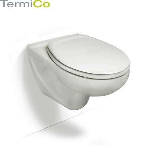 Miska wisząca wc Roca Victoria do kompletowania z deską zwykła lub wolnoopadającą.-image_Roca_A346303007_3