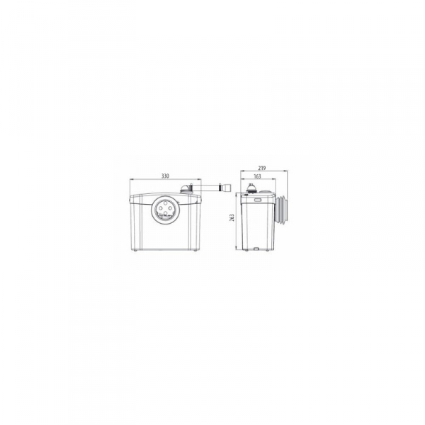 Wymiary techniczne pompy SFA-image_SFA_SFA SANIBROYEUR SILENCE_2